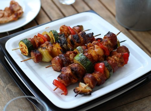 brocheta barbacoa